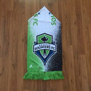 Seattle Sounders MLS Soccer Adidas Scarf!